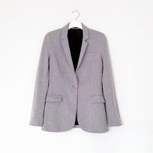Express gray jersey knit blazer. size XS